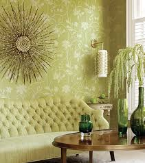 green wallpaper room appealing wallpaper living room green pictures simple design home