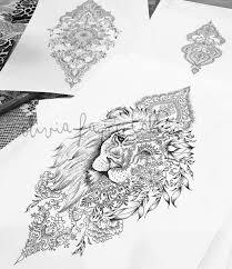 Female Thigh Tattoo Ideas 25 Best Lion Thigh Tattoo Ideas On Pinterest Feminine Thigh