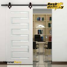 Sliding Wooden Closet Doors High Quality 5 8 Ft Single Sliding Barn Wood Closet Door Hardware