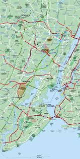 Nyc City Map New York City Map Western Section Of Nyc
