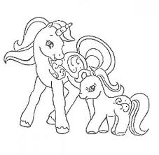 pony colouring pages pony coloring