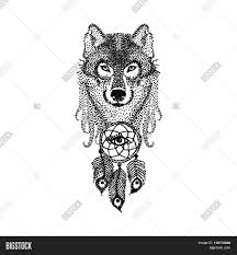 dotwork tattoo design stylized vector u0026 photo bigstock