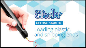 3doodler news reviews and more 3doodler 2 0 getting started loading plastic and snipping ends