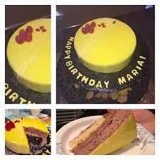 mirror glaze cake yellow mirror glaze cake cakecentral com
