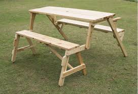 picnic table converts to bench outsunny convertible table and picnic bench reviews wayfair