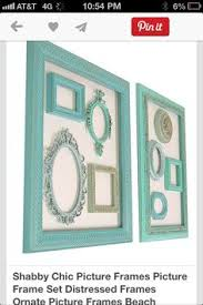 Cheap Shabby Chic Photo Frames by Shabby Chic Frames Picture Frames Picture Frame Set Turquoise Home