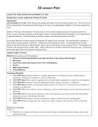 5 e lesson plan template 5e lesson plan template