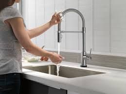 Touch2o Kitchen Faucet by Delta Faucet 9659t Ar Dst Trinsic Pro Single Handle Pull Down