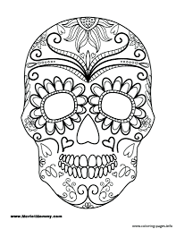 printable halloween pictures for preschoolers coloring pages halloween coloring pages printable page sugar skull