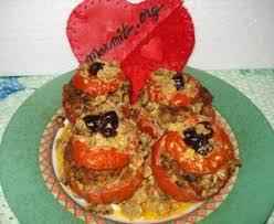 cuisiner des tomates s h s tomates farcies au boeuf haché recette de tomates farcies au boeuf