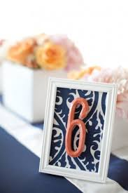 Coral Wedding Centerpiece Ideas by 35 Navy And A Blush Of Coral Wedding Color Palette Ideas