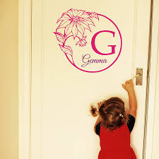 baby girl name wall stickers by wall art quotes designs by gemma baby girl name wall stickers