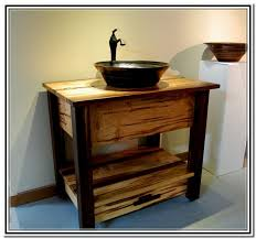 charming rustic bathroom vanities for vessel sinks 46 on home