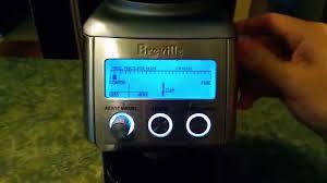 Coffee Grinders Reviews Ratings Breville Smart Grinder Bcg800xl Coffee Grinder Review Youtube