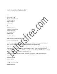 Sle Letter Of Certification For Visa Application Letter Of Certification Of Employment For Visa 28 Images Sle
