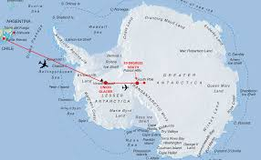 Antartica Map Map Of South Pole My Blog