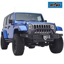 jeep jk rock crawler 07 17 jeep wrangler jk rock crawler full width front bumper w oe