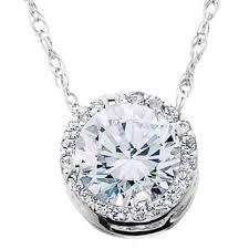 diamond necklace pendants images Auriya 39 dancing stone 39 14k gold 1ct tdw diamond pendant necklace jpg