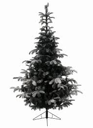 flocked white fir deluxe artificialas tree classics