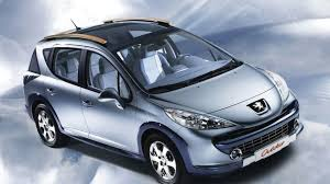 peugeot 207 2007 peugeot 207 sw outdoor concept revealed motor1 com photos