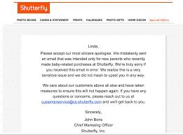 shutterfly accidentally congratulates a ton of customers for