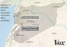 Damascus Syria Map by The Us Strike Against Syria What We Know So Far Vox