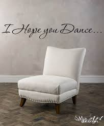i hope you dance wall art decal quotes and phrase vinyl sticker i hope you dance wall art decal quotes and phrase vinyl sticker