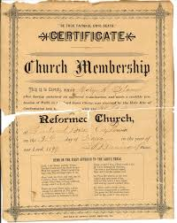 is church membership really required