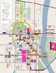 Fresno State Parking Map by Nashville Huskers