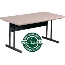 Commercial Computer Desk Tables Tables Correll Computer Tables With