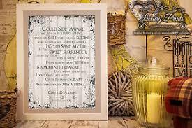 aerosmith wedding song aerosmith dont wanna miss wedding song personalised canvas gift