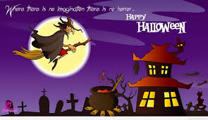 Halloween Birthday Ecards 22 Most Beautiful Happy Halloween Greeting Card Images And Photos