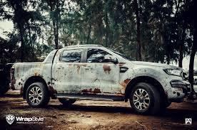 rusty car wrapstyle premium car wrap car foil dubai chrome car