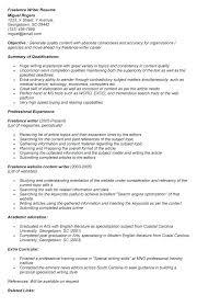 resume objective for freelance writer freelance resume writing freelance writer translator resume