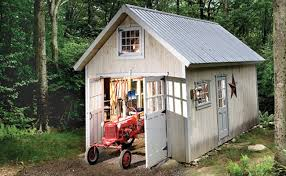 Tractor Barn Homebuilt Shed Showcase Shed Nation