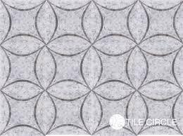 gorgeous mosaic tile pattern unique grey circles mosaic tile for