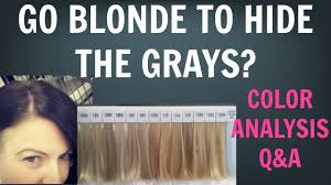 highlights to hide white hair going gray going grey do you want to go blonde to cover the grays