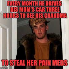 Scumbag Mom Meme - scumbag steve meme imgflip
