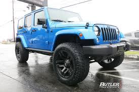 2014 jeep wrangler tire size jeep wrangler with 20in fuel wheels exclusively from butler