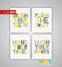 Diy Kids Bathroom - kids bathroom art idea must do i need to have sawyer do this