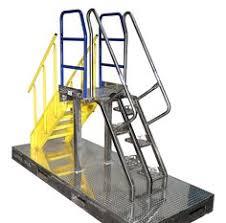 lapeyre stair alternating tread stair gallery steel