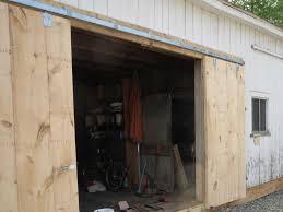 Exterior Sliding Door Track Systems Exterior Barn Doors For Garage Barn Door Ideas