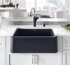 add farmhouse style to the kitchen with blanco u0027s new ikon sink