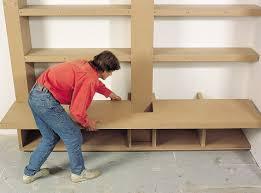 cr馥r sa cuisine sur mesure créer une bibliothèque de salon sur mesure