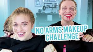 Challenge Baby Ariel No Arms Make Up Challenge Baby Ariel Jacob Jose
