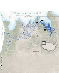 North America Ice Age Map by Formed By Megafloods This Place Fooled Scientists For Decades