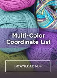 Colors That Match With Purple Mix U0026 Match With The Coordinates List Red Heart Blog