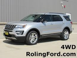 Ford Explorer Colors - 2017 ford explorer xlt stock n8193 shell rock ia 50670