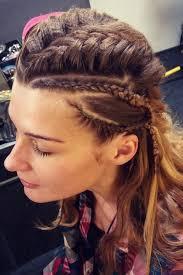 how to plait hair like lagertha lothbrok the 25 best lagertha hair ideas on pinterest viking hair step