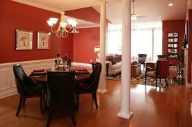 Dining Room Color Combinations by Red Brown Combination Paint Color For Dining Room Home Interiors